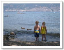 RV Trailer Rentals in Kelowna waterfront RV campground